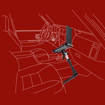 KFZ-Halter für Laptops, Netbooks, Kameras, Foto- und Videostativkopf, A-100