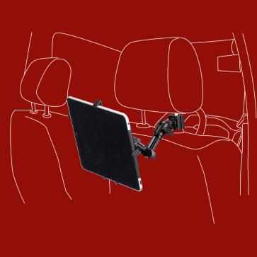 iPad, Tablet-PC, KFZ-Halterung für die Kopfstütze, DO-H