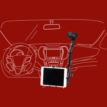 iPad Halter, Tablethalterung fürs Auto, KFZ, PKW, LKW, DO-W