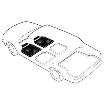 Peugeot 5008 II Bj. 12.16-, carli liner Schalenmatten für Fußraum vorne