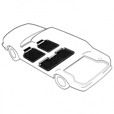 Mitsubishi Outlander III (GG_W, GF_W, Z_J) Bj. 08.12-, 3W PREMIUM Schalenmatten für den Fußraum