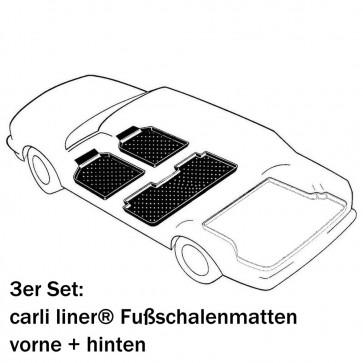 Range Rover IV (L405) Bj. 08.12-17, 3W PREMIUM Schalenmatten für den Fußraum