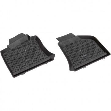 VW Eos (1F7, 1F8) Bj. 03.06-15, rensi Schalenmatten für Fußraum vorne