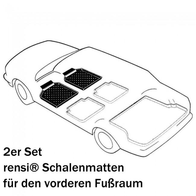 rensi Schalenmatten// Fußmatten für VW up!