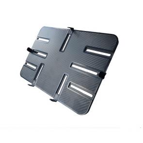 """P-Tisch, ABS-Kunststoff schwarz, 300 x 210 mm, passend für Tablets von 10"""" - 13"""", Einspannbereich 151-297 x 103-207 mm"""