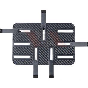 """Q-Tisch, ABS-Kunststoff schwarz, 194 x 131 mm, passend für Tablets von 7""""-11"""", Einspannbereich 194-272 x 127-207 mm"""