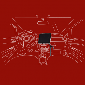 KFZ-Tablet-PC-Halter mit Kugelkkopfgelenk, DO-S
