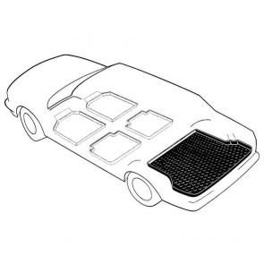Kofferraumwanne antirutsch Honda Civic (VII) 5-türig Bj. 07.01-08.05