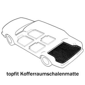 Kofferraumwanne antirutsch VW Polo Classic Bj. 08.99-09.01