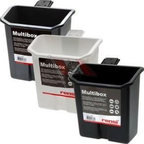Multibox in Farbe weiß oder silber