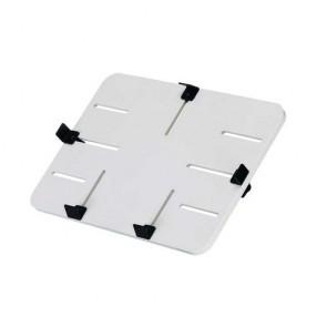 """P-Tisch WEISS, ABS-Kunststoff, 300 x 210 mm, passend für Tablets von 10"""" - 13"""", Einspannbereich 151-297 x 103-207 mm"""