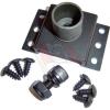 Adapter zur Fahrzeugbodenmontage eines KFZ-Notebookhalters der Alpha Serie